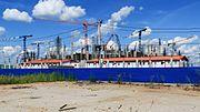 NN Strelka Stadium construction 08-2016.jpg